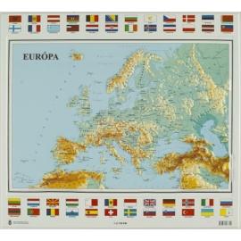 Európa térkép (magyar nyelvű) 2013.