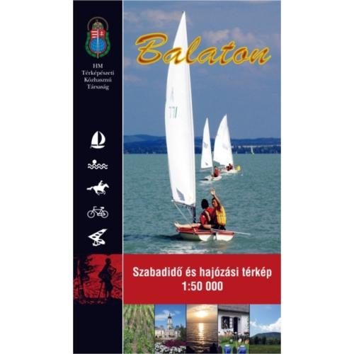 Balaton szabadidő és hajózási térkép
