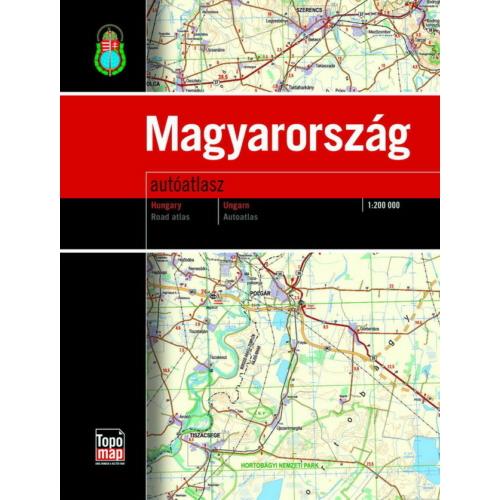 Magyarország autóatlasz 2017.