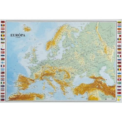 Európa térkép (magyar nyelvű)
