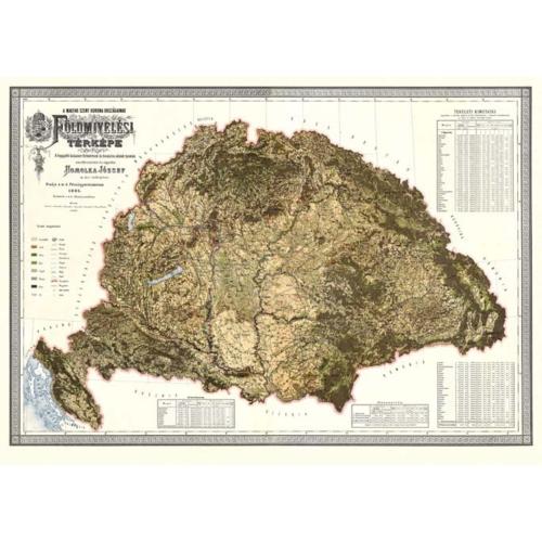 Földmívelési térkép (Homolka 1895)