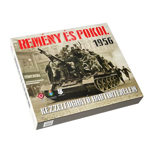 REMÉNY ÉS POKOL 1956 - KÉZZELFOGHATÓ HADTÖRTÉNELEM sorozat